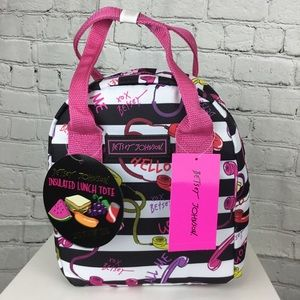 💕SALE💕 NWT Betsey Johnson Telephone Lunch Bag